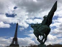 Viaje Eiffel del La Foto de archivo libre de regalías