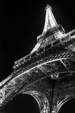 Viaje Eiffel en la noche Imágenes de archivo libres de regalías