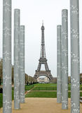 Viaje Eiffel en París Fotografía de archivo