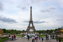 Viaje Eiffel en París Imagen de archivo libre de regalías