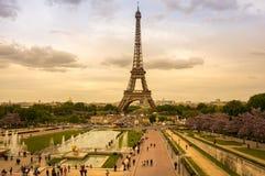 Viaje Eiffel en París Fotos de archivo libres de regalías