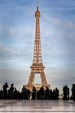 Viaje Eiffel, París Foto de archivo