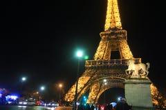 Viaje Eiffel, París del La Fotos de archivo libres de regalías