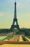 Viaje Eiffel París Francia. imagen de archivo libre de regalías