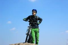Viaje en bici Imagen de archivo