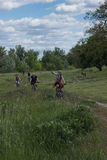 Viaje en bici Fotos de archivo libres de regalías
