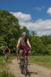 Viaje en bici Fotos de archivo