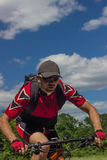 Viaje en bici Foto de archivo libre de regalías