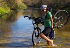 Viaje en bici Fotografía de archivo
