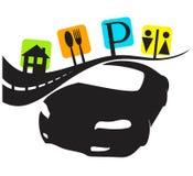 Viaje en coche, servicios Foto de archivo libre de regalías
