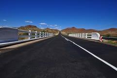Camino en Namibia Foto de archivo libre de regalías
