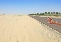 Viaje en el desierto fotografía de archivo libre de regalías