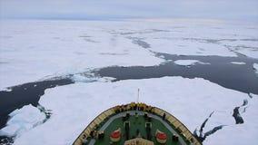 Viaje en el hielo, ártico almacen de metraje de vídeo