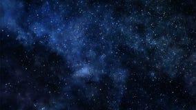 Viaje en espacio profundo stock de ilustración