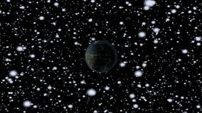 Viaje espacial stock de ilustración