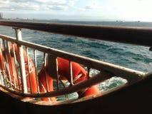 Viaje Estambul del barco de mar Fotos de archivo libres de regalías
