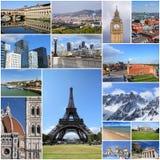Viaje europeo imagenes de archivo
