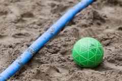 Viaje europeo del balonmano de la playa - finales Salónica 2016 del ebt Imagenes de archivo