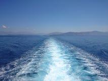 Viaje Grecia del barco Fotos de archivo libres de regalías