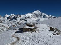 Viaje hermoso de Annapurna foto de archivo