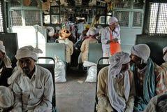 Viaje indio del carril foto de archivo