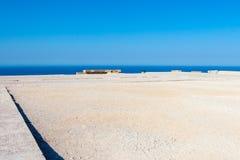 Viaje 2015, isla de Rhodos, Lindos de Grecia Fotografía de archivo libre de regalías