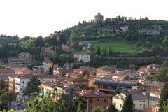 Viaje Italia: vista de Verona Fotografía de archivo