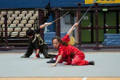 Viaje italiano de los héroes 2010 de Kung Fu Foto de archivo
