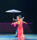 Viaje junto-ella danza popular aduana-china de la nacionalidad Imagen de archivo libre de regalías