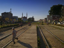 viaje a Kosovo imagen de archivo