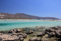 Viaje, naturaleza, Grecia, Creta, Elafonisi, Imagen de archivo