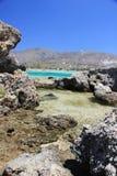 Viaje, naturaleza, Grecia, Creta, Elafonisi, Imagenes de archivo