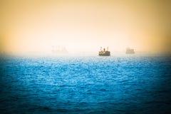Viaje nostálgico del mar imagenes de archivo