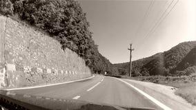 Viaje por carretera almacen de video