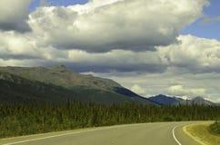 Viaje por carretera de Alaska Fotos de archivo
