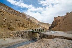 Viaje por carretera de Himalaya de Manali a Leh en 2015 Imágenes de archivo libres de regalías