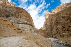 Viaje por carretera de Himalaya de Manali a Leh en 2015 Fotografía de archivo libre de regalías