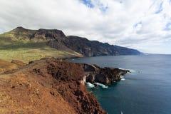 Viaje por carretera de la costa en Tenerife Imagenes de archivo