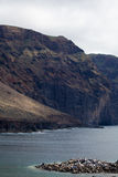 Viaje por carretera de la costa en Tenerife Imagen de archivo
