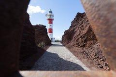 Viaje por carretera de la costa en Tenerife Foto de archivo