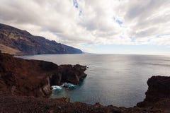 Viaje por carretera de la costa en Tenerife Foto de archivo libre de regalías