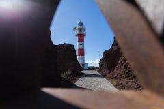 Viaje por carretera de la costa en Tenerife Fotos de archivo libres de regalías