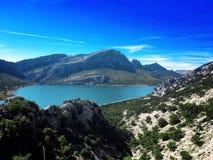 Viaje por carretera de Majorca, isla de Majorca, opinión del majorca, España, Europa Fotos de archivo libres de regalías