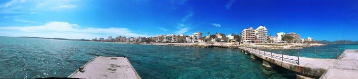 Viaje por carretera de Majorca, isla de Majorca, opinión del majorca, España, Europa Foto de archivo libre de regalías