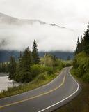 Viaje por carretera en Alaska Imágenes de archivo libres de regalías