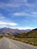 Viaje por carretera Nueva Zelanda Foto de archivo