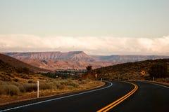 Viaje por carretera Utah los E.E.U.U. fotografía de archivo