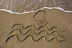 Viaje por mar foto de archivo