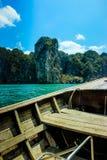 Viaje por mar en Tailandia Imágenes de archivo libres de regalías