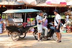 Viaje a Prasat Preah Khan Fotos de archivo libres de regalías